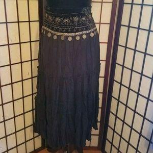 Dresses & Skirts - Gypsy Boho Festival Dancer Witch Gothic Skirt